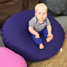 פוף שוגי עגול גדול לתינוקות וילדים קטנים