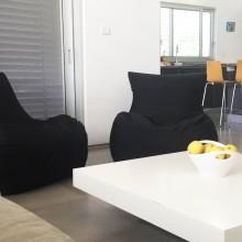 פופים דגם סאני בדירה החדשה