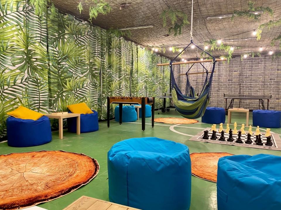 פופים דגם קמילה בחדר מדהים - בית ספר רוטברג
